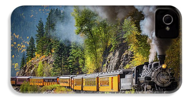 Durango-silverton Narrow Gauge Railroad IPhone 4 / 4s Case by Inge Johnsson