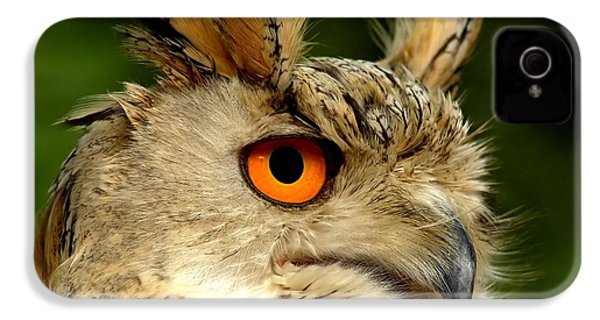Eagle Owl IPhone 4 / 4s Case by Jacky Gerritsen