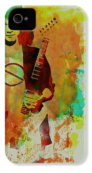 Eddie Van Halen IPhone 4 / 4s Case by Naxart Studio