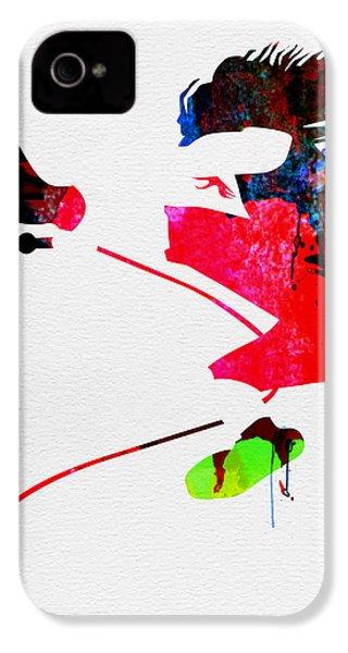 Eddie Watercolor IPhone 4 / 4s Case by Naxart Studio
