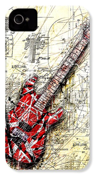 Eddie's Guitar 3 IPhone 4 / 4s Case by Gary Bodnar