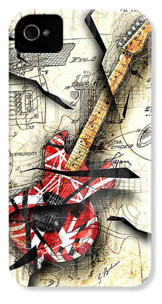 Eddie's Guitar IPhone 4 / 4s Case by Gary Bodnar