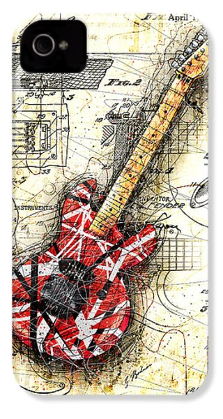 Eddie's Guitar II IPhone 4 / 4s Case by Gary Bodnar