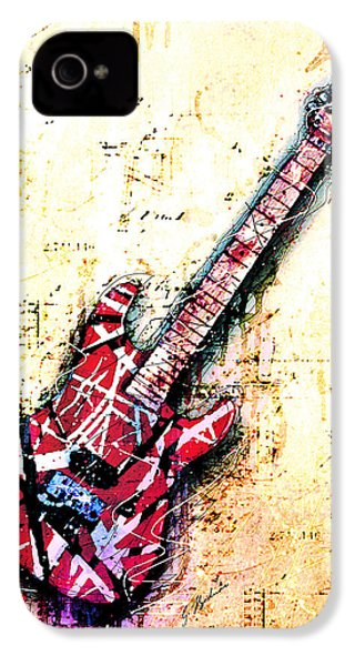 Eddie's Guitar Variation 07 IPhone 4 / 4s Case by Gary Bodnar
