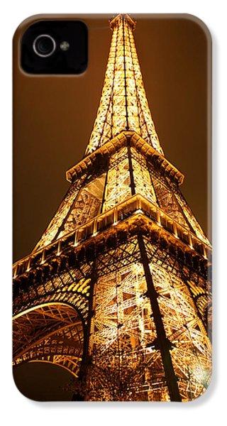 Eiffel IPhone 4 / 4s Case by Skip Hunt