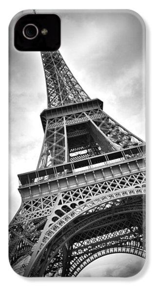 Eiffel Tower Dynamic IPhone 4 / 4s Case by Melanie Viola