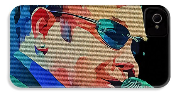 Elton John Blue Eyes Portrait 2 IPhone 4 / 4s Case by Yury Malkov