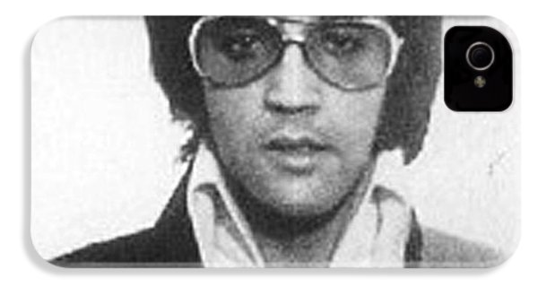 Elvis Presley Mug Shot Vertical IPhone 4 / 4s Case by Tony Rubino