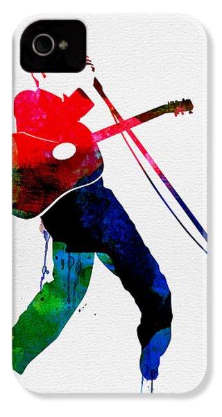 Elvis Watercolor IPhone 4 / 4s Case by Naxart Studio