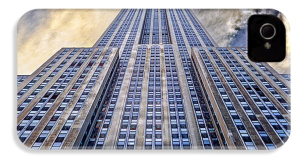 Empire State Building  IPhone 4 / 4s Case by John Farnan