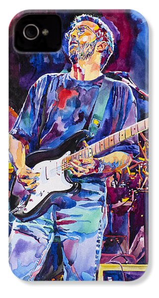 Eric Clapton And Blackie IPhone 4 / 4s Case by David Lloyd Glover