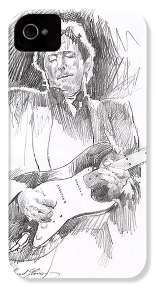 Eric Clapton Blackie IPhone 4 / 4s Case by David Lloyd Glover