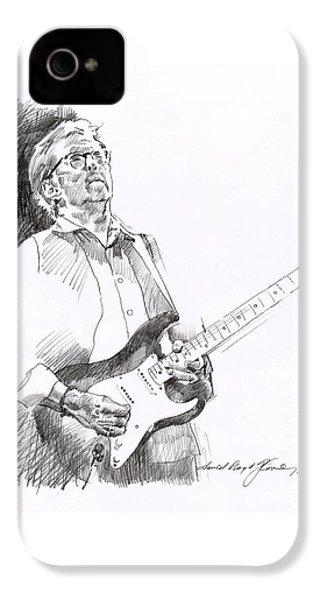 Eric Clapton Joy IPhone 4 / 4s Case by David Lloyd Glover