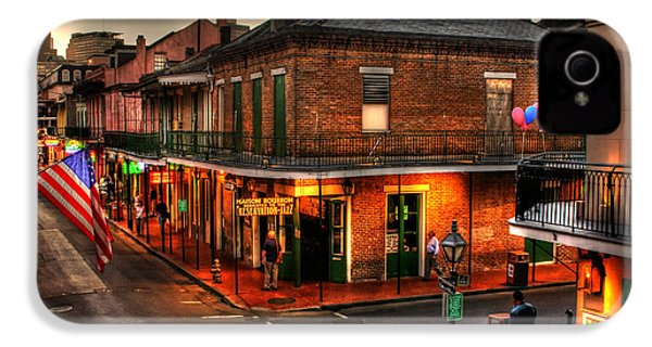 Evening On Bourbon IPhone 4 / 4s Case by Greg and Chrystal Mimbs