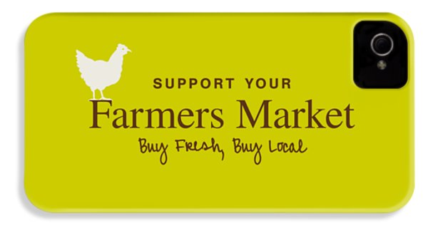 Farmers Market IPhone 4 / 4s Case by Nancy Ingersoll