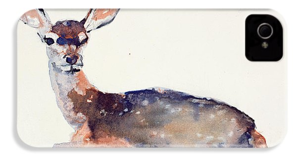 Fawn IPhone 4 / 4s Case by Mark Adlington