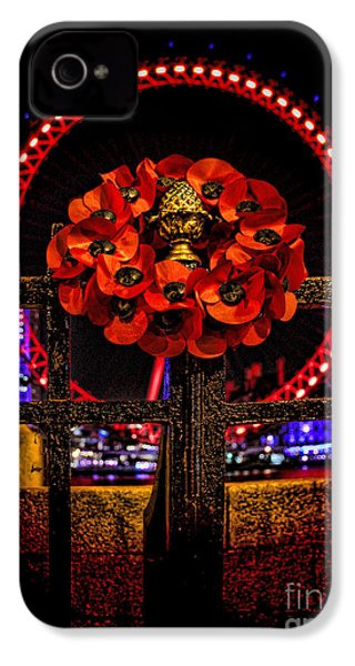 Final Salute IPhone 4 / 4s Case by Jasna Buncic