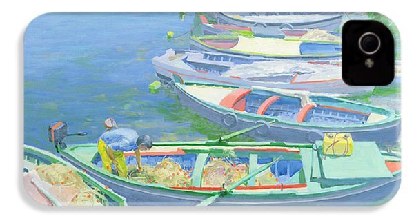 Fishing Boats IPhone 4 / 4s Case by William Ireland