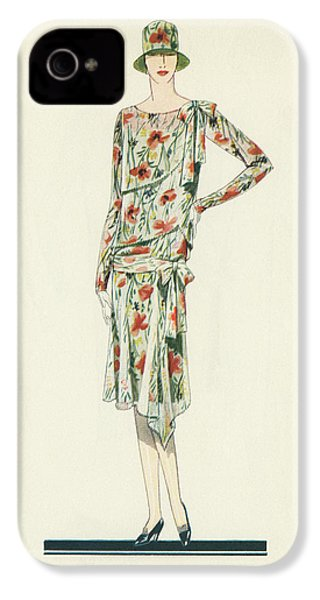 Flapper In An Afternoon Dress IPhone 4 / 4s Case by American School