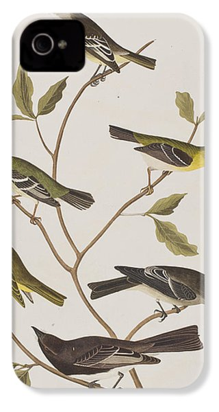 Fly Catchers IPhone 4 / 4s Case by John James Audubon