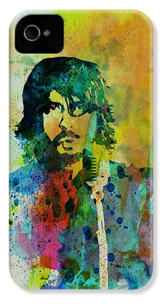 Foo Fighters IPhone 4 / 4s Case by Naxart Studio
