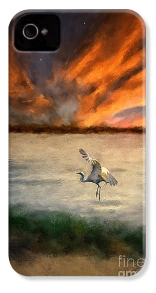 For Just This One Moment IPhone 4 / 4s Case by Lois Bryan