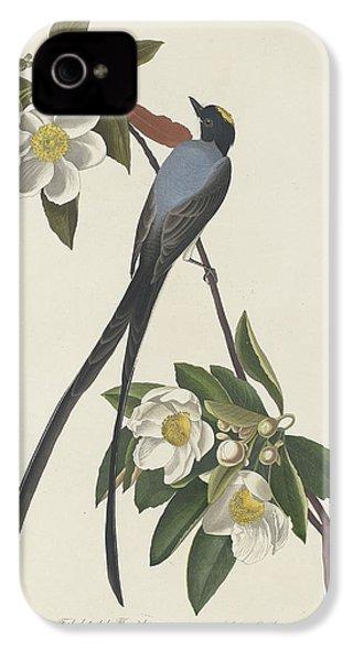 Forked-tail Flycatcher IPhone 4 / 4s Case by John James Audubon