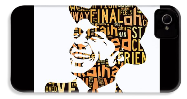 Frank Sinatra I Did It My Way IPhone 4 / 4s Case by Marvin Blaine