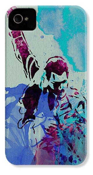 Freddie Mercury IPhone 4 / 4s Case by Naxart Studio