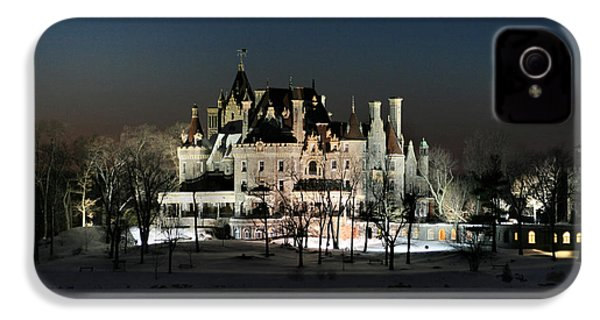 Frozen Boldt Castle IPhone 4 / 4s Case by Lori Deiter