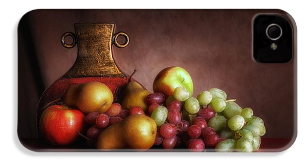 Fruit With Vase IPhone 4 / 4s Case by Tom Mc Nemar
