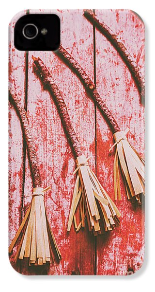 Gathering Of Evil Witches Still Life IPhone 4 / 4s Case by Jorgo Photography - Wall Art Gallery