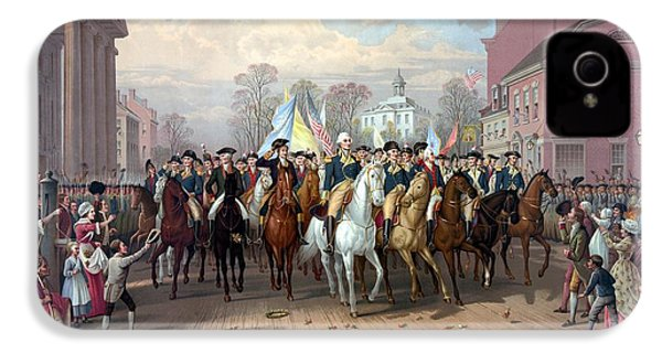 General Washington Enters New York IPhone 4 / 4s Case by War Is Hell Store