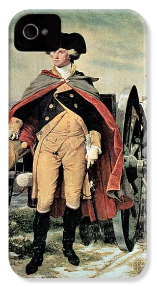 George Washington At Dorchester Heights IPhone 4 / 4s Case by Emanuel Gottlieb Leutze