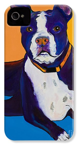Georgie IPhone 4 / 4s Case by Pat Saunders-White