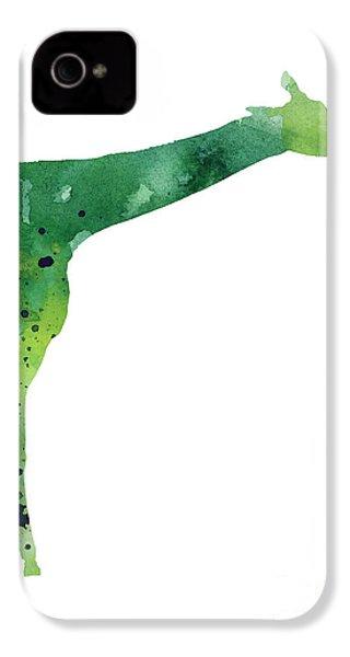 Giraffe Drawing Watercolor Art Print IPhone 4 / 4s Case by Joanna Szmerdt