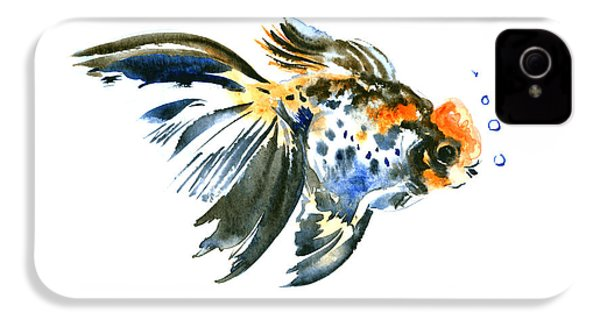 Goldfish IPhone 4 / 4s Case by Suren Nersisyan