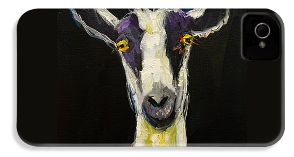 Goat Gloat IPhone 4 / 4s Case by Diane Whitehead