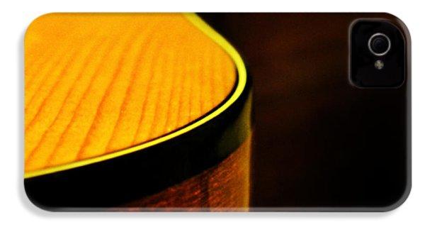 Golden Guitar Curve IPhone 4 / 4s Case by Deborah Smith