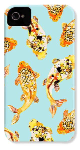 Goldfish IPhone 4 / 4s Case by Uma Gokhale