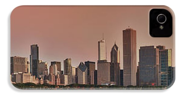 Good Morning Chicago Panorama IPhone 4 / 4s Case by Sebastian Musial