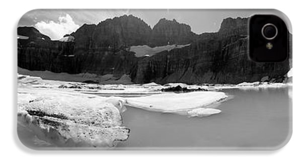 Grinnell Glacier Panorama IPhone 4 / 4s Case by Sebastian Musial