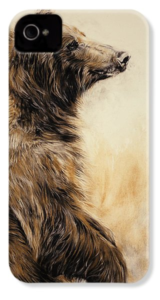 Grizzly Bear 2 IPhone 4 / 4s Case by Odile Kidd