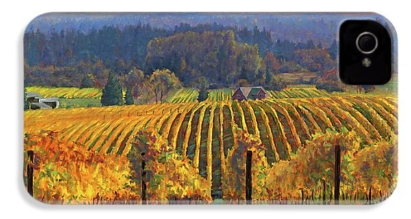 Harvest Gold IPhone 4 / 4s Case by Michael Orwick