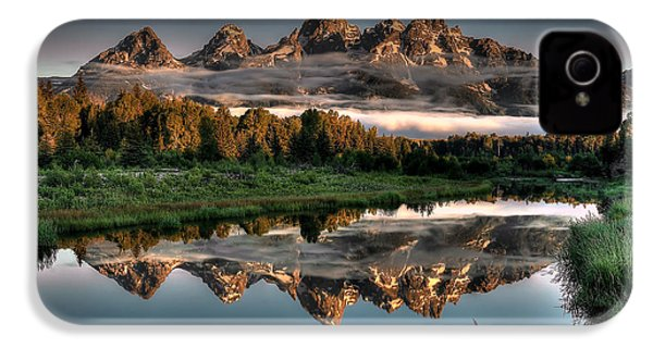 Hazy Reflections At Scwabacher Landing IPhone 4 / 4s Case by Ryan Smith
