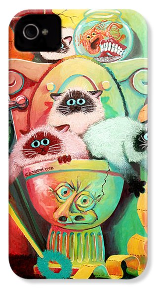 Head Cleaners IPhone 4 / 4s Case by Baron Dixon