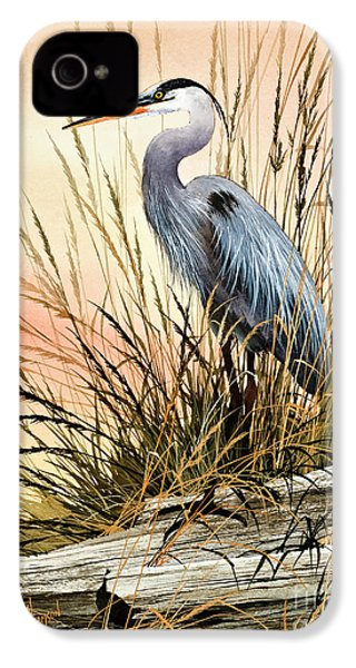 Heron Sunset IPhone 4 / 4s Case by James Williamson