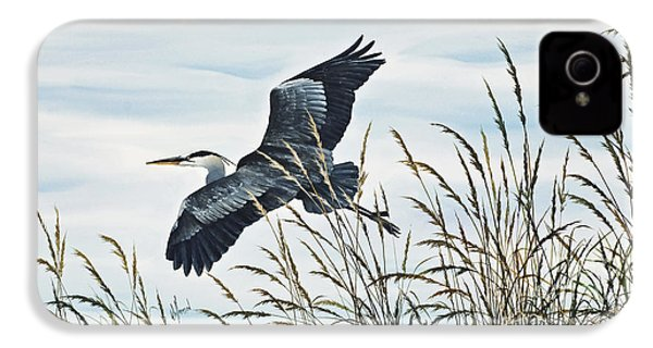 Herons Flight IPhone 4 / 4s Case by James Williamson
