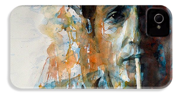 Hey Mr Tambourine Man @ Full Composition IPhone 4 / 4s Case by Paul Lovering
