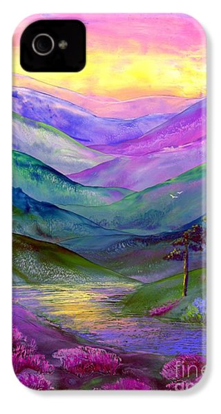 Highland Light IPhone 4 / 4s Case by Jane Small